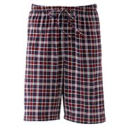 Croft and Barrow Plaid Knit Lounge Shorts