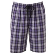 Apt. 9 Plaid Woven Lounge Shorts