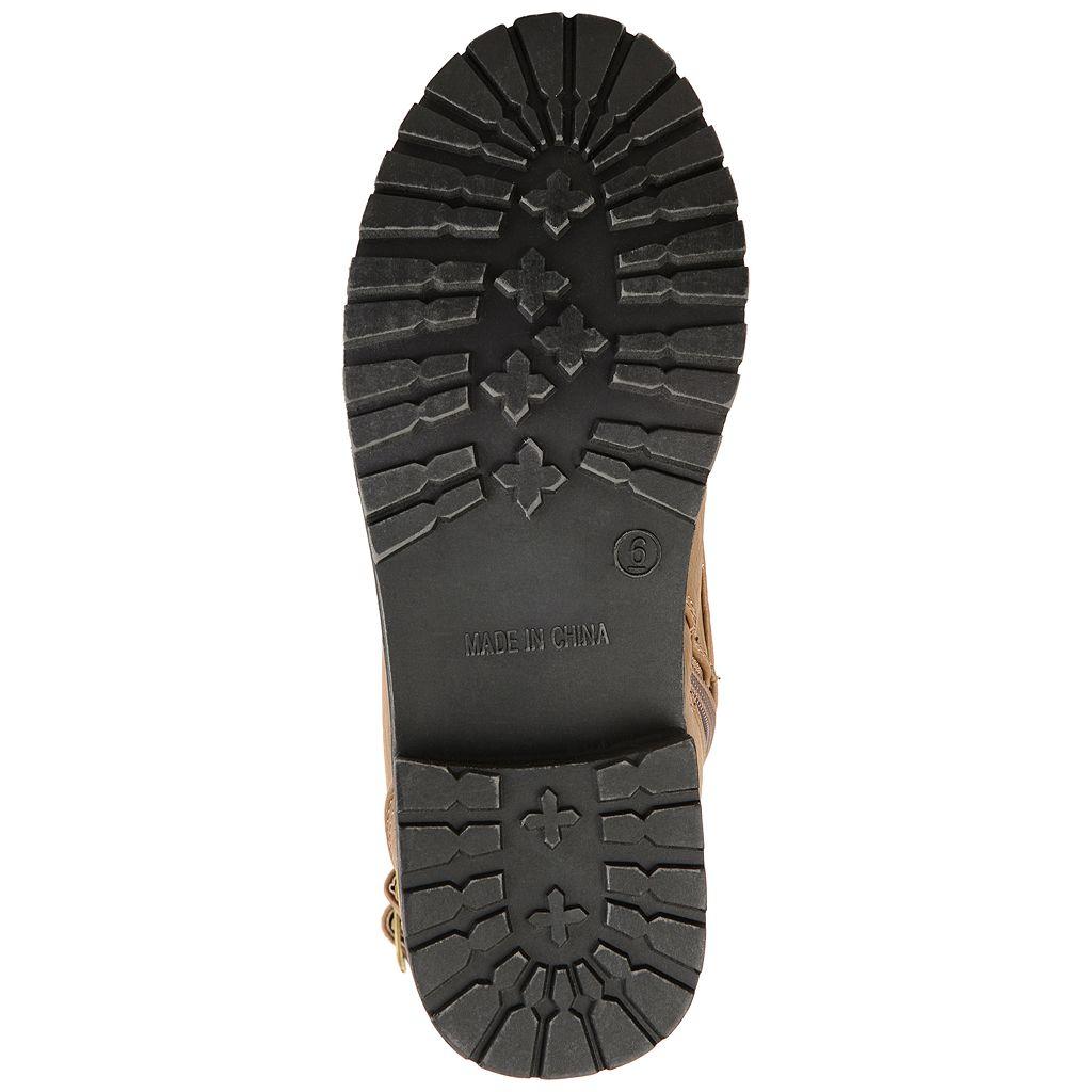 Journee Collection Cedes Women's Combat Boots