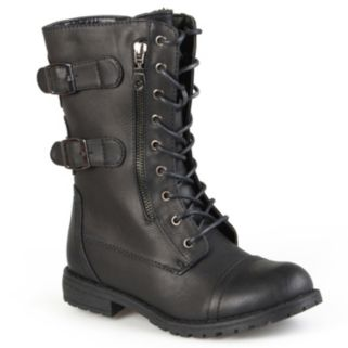 Journee Collection Cedes Women's Combat Boots