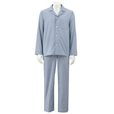 Croft and Barrow Checked Pajama Set