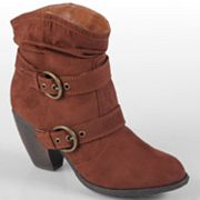 Journee Collection Jenny Slouch Ankle Boots - Women