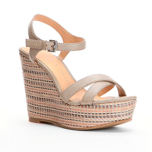 3e873c38f LC Lauren Conrad Platform Wedge Sandals - Women
