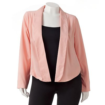 Candie's Shawl-Collar Blazer - Juniors' Plus