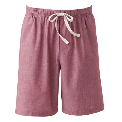 Croft and Barrow Solid Lounge Shorts