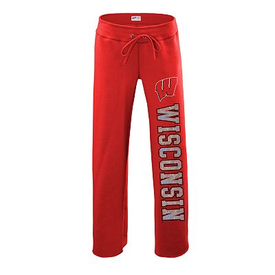 Soffe Wisconsin Badgers Fleece Pants - Juniors'