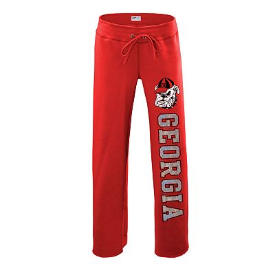 Soffe Georgia Bulldogs Fleece Pants - Juniors'
