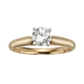Round-Cut IGL Certified Diamond Solitaire Engagement Ring in 14k Gold (3/4 ct. T.W.)