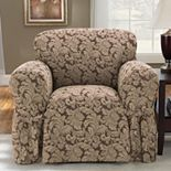 Sure Fit? Scroll Damask Chair Slipcover