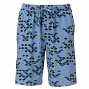 Croft & Barrow Fish Pajama Shorts - Men