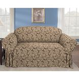 Sure Fit? Scroll Damask Sofa Slipcover