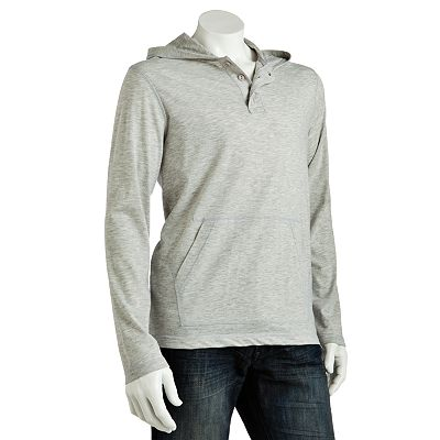 Urban Pipeline Hooded Henley - Men