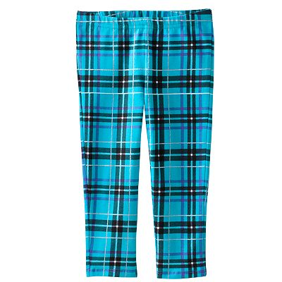 Jumping Beans Plaid Leggings - Toddler