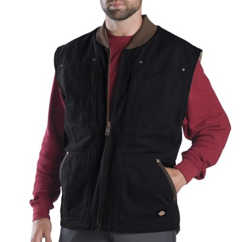 Dickies Sanded Duck Vest - Men