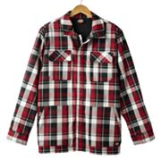 Dickies Plaid Sherpa-Lined Rancher Jacket - Men
