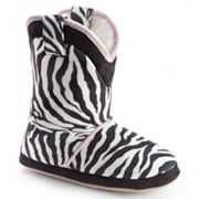 Cicciabella Zebra Boot Slippers