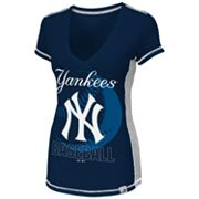 Majestic New York Yankees Light Up The Stands Tee - Women