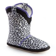Cicciabella Snow Leopard Boot Slippers