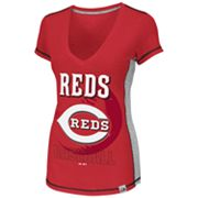 Majestic Cincinnati Reds Light Up The Stands Tee - Women