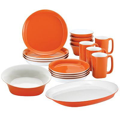 Rachael Ray 18-pc. Dinnerware and Serveware Value Set