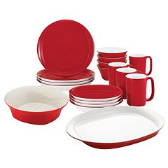 Rachael Ray 18-pc. Dinnerware & Serveware Value Set