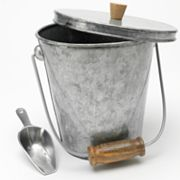 Bobby Flay Galvanized Metal Ice Bucket