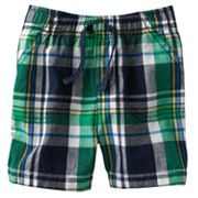 Jumping Beans Plaid Shorts - Baby