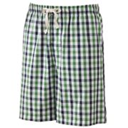 Croft and Barrow Gingham Lounge Shorts