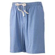 Croft and Barrow Striped Lounge Shorts