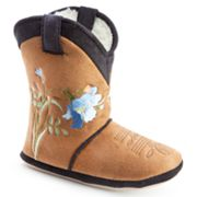 Cicciabella Poppy Floral Boot Slippers