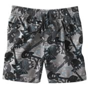 Jumping Beans Skull Canvas Shorts - Baby