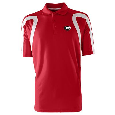 Georgia Bulldogs Point Desert Dry Xtra-Lite Pique Polo - Men