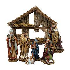 Kurt Adler 7-pc. Nativity Set