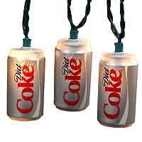 Kurt Adler Indoor Coca-Cola Diet Coke Can Light Set