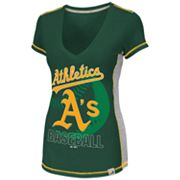 Majestic Oakland Athletics Light Up The Stands Tee - Women
