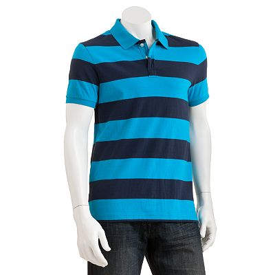 Urban Pipeline Rugby Striped Jersey Polo - Men