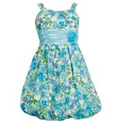 Bonnie Jean Emma Floral Bubble Dress - Girls 7-16
