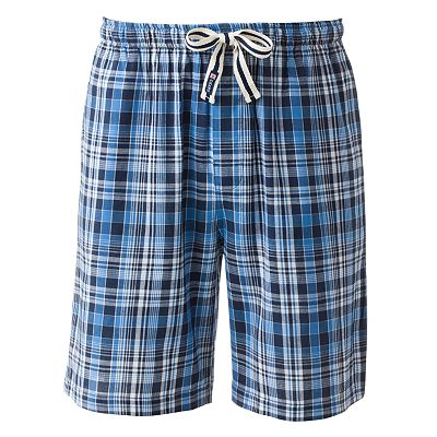Chaps Plaid Lounge Shorts