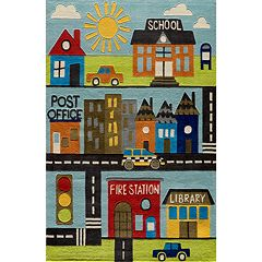 Momeni Lil Mo Whimsy Town Rug - 5' x 7'