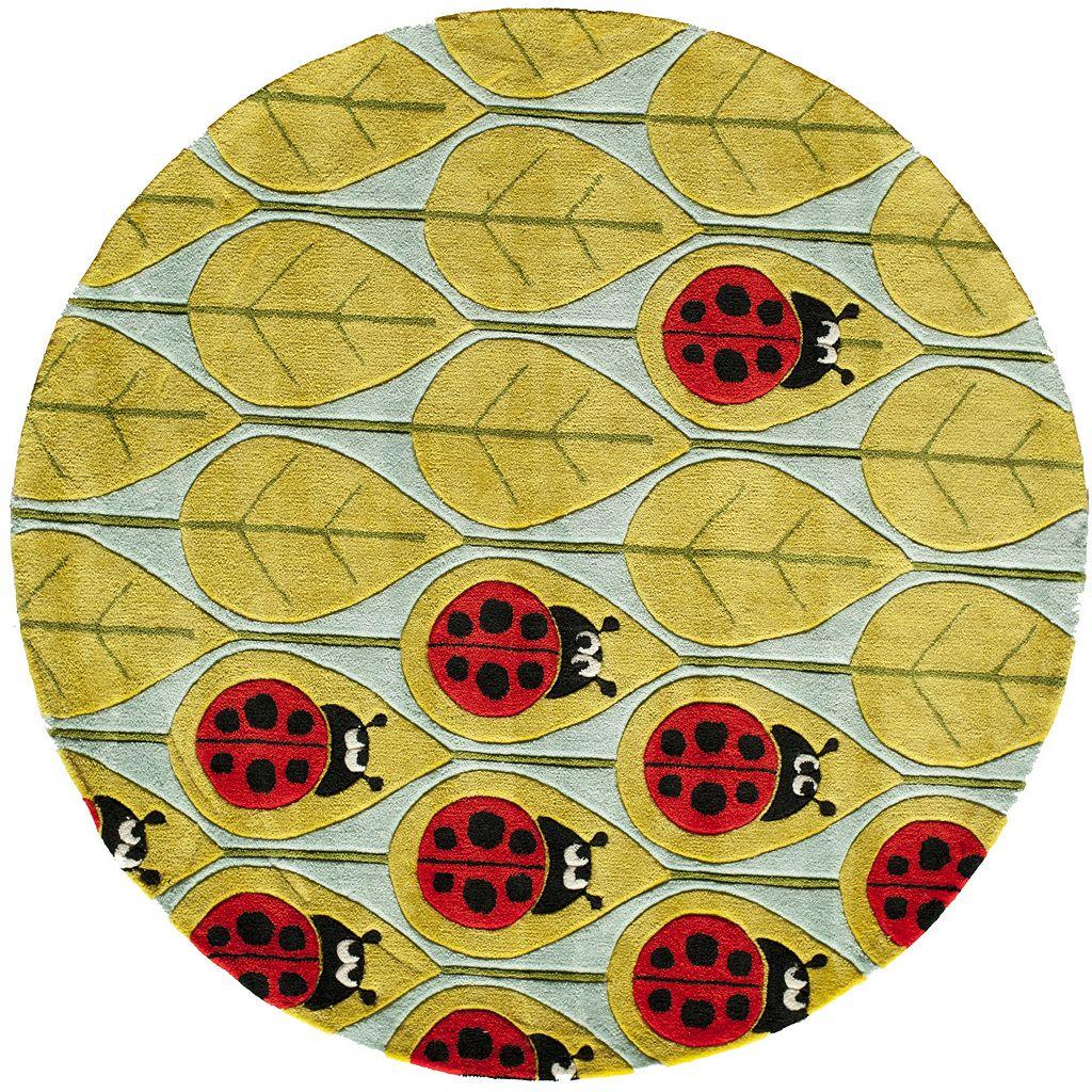 Momeni Lil Mo Whimsy Lady Bug Rug - 5' Round