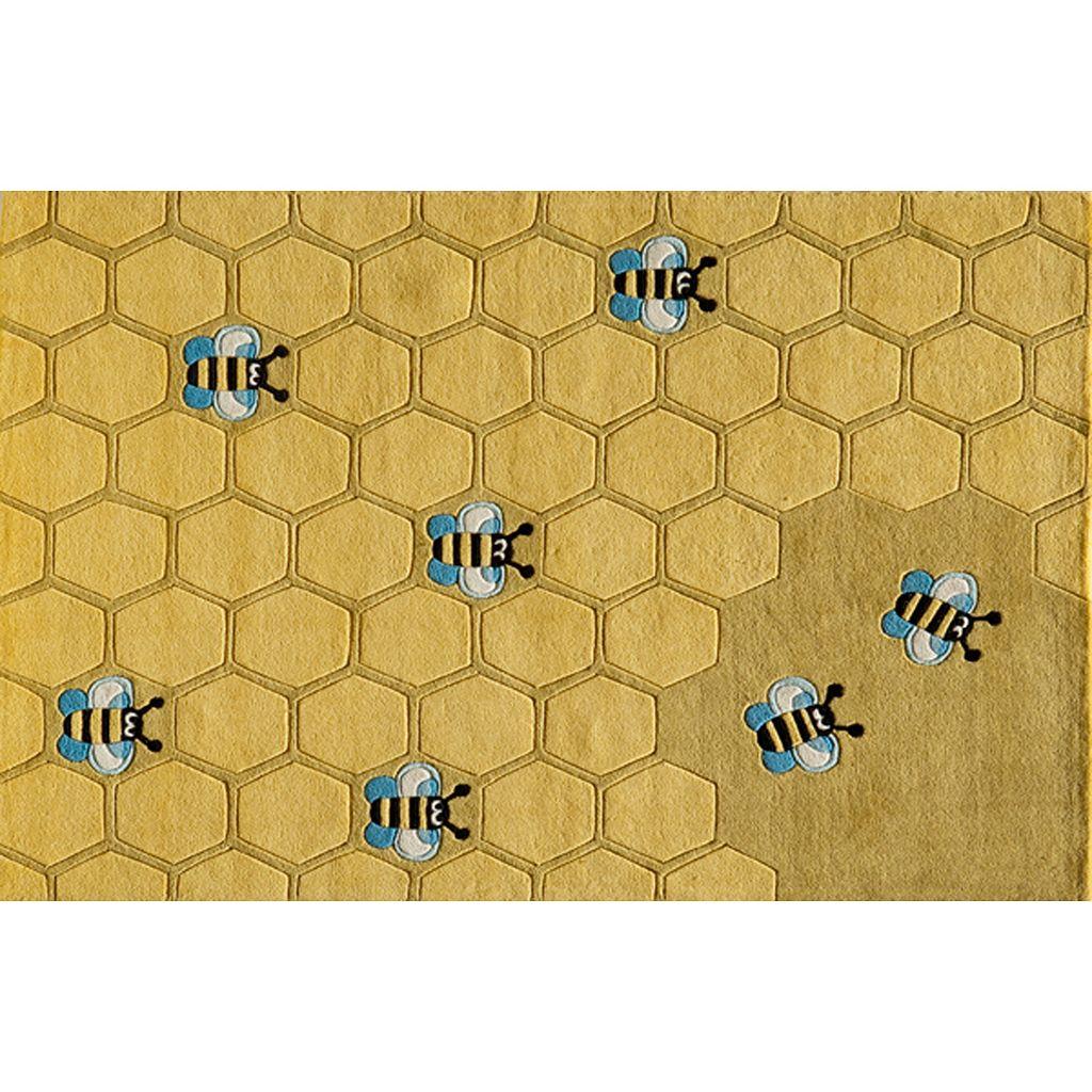 Momeni Lil Mo Whimsy Honeycomb Rug - 3' x 5'