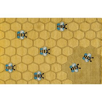Momeni Lil Mo Whimsy Honeycomb Rug - 4' x 6'