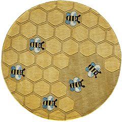Momeni Lil Mo Whimsy Honeycomb Rug - 5' Round