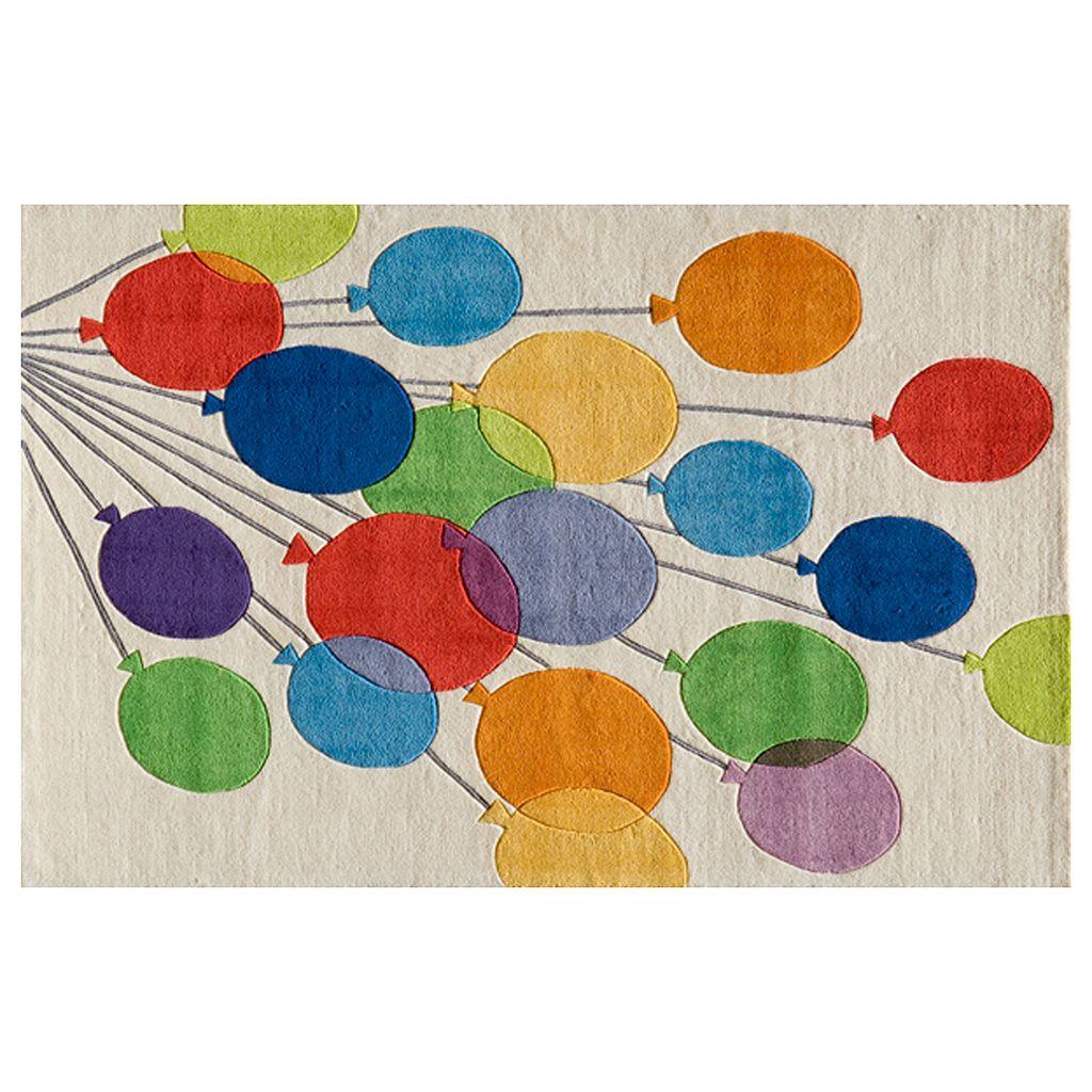 Momeni Lil Mo Whimsy Balloons Rug - 2' x 3'