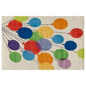 Momeni Lil Mo Whimsy Balloons Rug - 3' x 5'