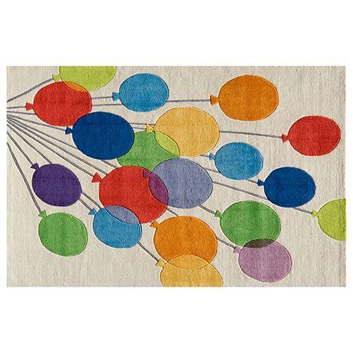 Momeni Lil Mo Whimsy Balloons Rug - 4' x 6'