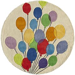 Momeni Lil Mo Whimsy Balloons Rug - 5' Round