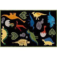 Momeni Lil Mo Whimsy Dinosaur Rug - 4' x 6'