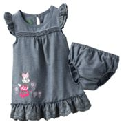 Disney Mickey Mouse and Friends Minnie Mouse Chambray Sundress - Baby