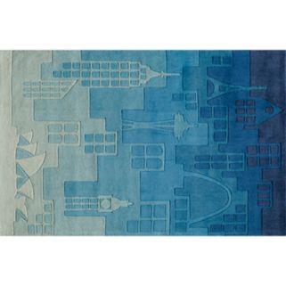 Momeni Lil Mo Whimsy Cityscape Rug - 8' x 10'